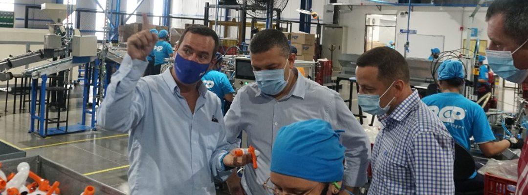 Bienvenida a Pereira a PCP Partes y Complementos Plásticos SAS.